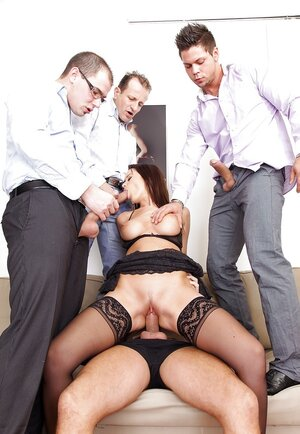 Cindy Dollar is sinful whore so lads straightforwardly can double penetrate her