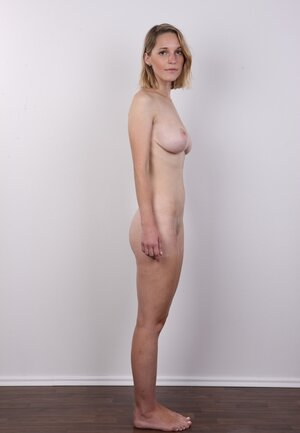 Sexually available mom decided not to resist and besides just expose skinny body with touchable titties