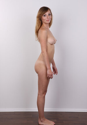 Sultry admire with red hair got a novel pubic topiary and besides came to show it